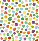 Fondo inconsútil abstracto multicolor divertido Foto de archivo