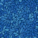 Fondo inconsútil azul Fotografía de archivo libre de regalías