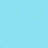 Fondo inconsútil azul del modelo de la flor geométrica Foto de archivo libre de regalías