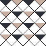 Fondo inconsútil coloreado abstracto a cuadros de los triángulos Ilustración del vector libre illustration