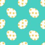 Fondo inconsútil colorido lindo del modelo de los huevos de Pascua Imagen de archivo