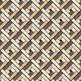 Fondo inconsútil con el modelo geométrico abstracto Azulejo decorativo ilustración del vector