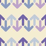Fondo inconsútil con las flechas decorativas Diseño plano Foto de archivo libre de regalías