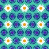 Fondo inconsútil con las flores azules, ejemplo colorido del modelo libre illustration