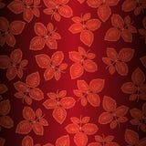 Fondo inconsútil con las hojas de rosas Foto de archivo libre de regalías