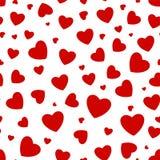 Fondo inconsútil con los corazones Imagen de archivo libre de regalías