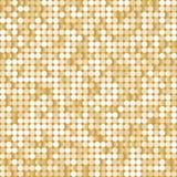 Fondo inconsútil con paillettes de oro brillantes Ilustración del Vector