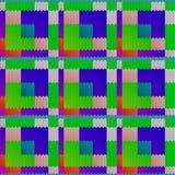 Fondo inconsútil con una textura hecha punto, imitación de lanas M stock de ilustración