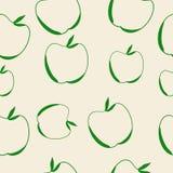 Fondo inconsútil de Apple Imagenes de archivo