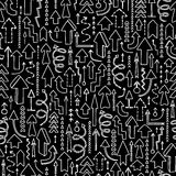 Fondo inconsútil de flechas ilustración del vector