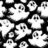 Fondo inconsútil 5 de Halloween Foto de archivo