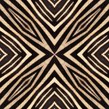 Fondo inconsútil de la cebra abstracta Foto de archivo libre de regalías