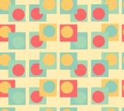 Fondo inconsútil de la geometría Imagen de archivo libre de regalías