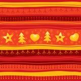 Fondo inconsútil de la Navidad roja Fotos de archivo libres de regalías