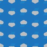 Fondo inconsútil de la nube de lluvia Imagen de archivo libre de regalías