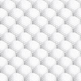 Fondo inconsútil de la pelota de golf Foto de archivo