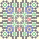 Fondo inconsútil de la teja de la textura de la tela Imágenes de archivo libres de regalías