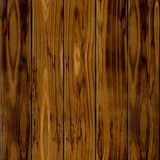 Fondo inconsútil de la textura del modelo de la cerca natural marrón vieja oscura de madera cinco Imagenes de archivo