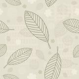 Fondo inconsútil de las hojas