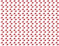 fondo inconsútil de los corazones dobles del bebé de +EPS Foto de archivo libre de regalías