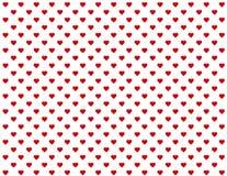 fondo inconsútil de los corazones rojos del bebé de +EPS Imagen de archivo libre de regalías