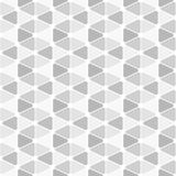 Fondo inconsútil de los pequeños triángulos grises Imagen de archivo