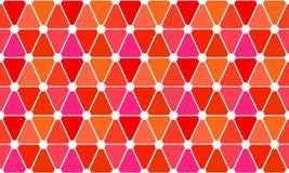 Fondo inconsútil de los triángulos del mosaico Fotos de archivo libres de regalías