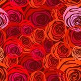 Fondo inconsútil de Rose ilustración del vector