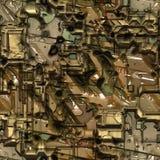 Fondo inconsútil de Techno Imagen de archivo libre de regalías