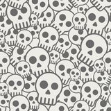 Fondo inconsútil del cráneo libre illustration