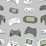 fondo inconsútil del gamepad Imágenes de archivo libres de regalías