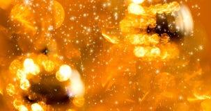 Fondo inconsútil del lazo de la Navidad con los copos de nieve almacen de video