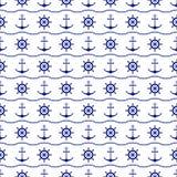 Fondo inconsútil del mar ilustración del vector