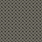 Fondo inconsútil del metal de Checkerplate Imagen de archivo