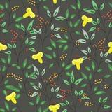 Fondo inconsútil del modelo de la flor abstracta Imagen de archivo libre de regalías