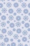 Fondo inconsútil del modelo de la Navidad del cordón del vector bohemio monocromático púrpura simple de los copos de nieve para l libre illustration