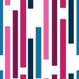 Fondo inconsútil del modelo de la raya del vector con las rayas verticales Líneas rectas Diseño de la tela Ilustración del vector libre illustration