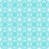 Fondo inconsútil del modelo de Lotus Leaf Light Green Geometric Ilustración del vector Foto de archivo libre de regalías