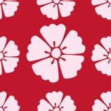 Fondo inconsútil del modelo de Sakura de la flor de cerezo libre illustration