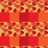 Fondo inconsútil del modelo del tulipán Imagen de archivo libre de regalías