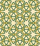 Fondo inconsútil del modelo del vector de estilo celta Foto de archivo libre de regalías
