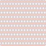 Fondo inconsútil del modelo del estilo nativo abstracto colorido redondo único del garabato ilustración del vector