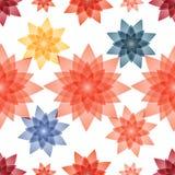 Fondo inconsútil del modelo para las materias textiles ilustración del vector