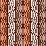 Fondo inconsútil del modelo del triángulo Imagen de archivo libre de regalías