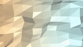 Fondo inconsútil del mosaico de oro libre illustration