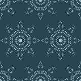 Fondo inconsútil del vector Estrella octagonal de triángulos polígonos Textura de mosaico ilustración del vector