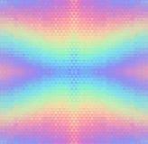 Fondo inconsútil del vector olográfico abstracto stock de ilustración