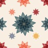 Fondo inconsútil floral abstracto del modelo Fotos de archivo libres de regalías