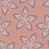 Fondo inconsútil floral de la lila Imagenes de archivo