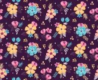 Fondo inconsútil floral Ilustración del vector Fotos de archivo
